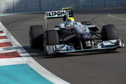 Nico Rosberg, Mercedes GP W01