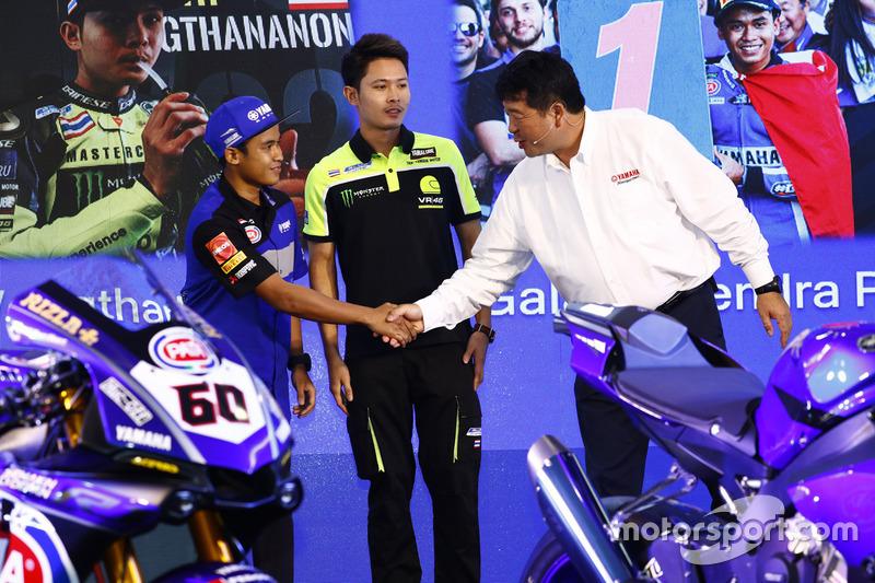 WorldSSP300: Galang Hendra, Team MotoX Racing dan Keitaro Horikoshi, General Manager Yamaha Motor Company