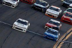 Tyler Reddick, JR Motorsports, BurgerFi Chevrolet Camaro takes the checkred flag
