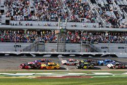Austin Dillon, Richard Childress Racing Chevrolet Camaro, Joey Logano, Team Penske Ford Fusion