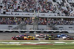 Start zum Advance Auto Parts Clash 2018: Austin Dillon, Richard Childress Racing Chevrolet Camaro