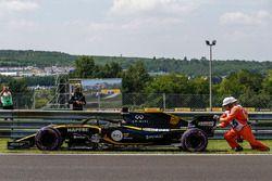 Nico Hulkenberg, Renault Sport F1 Team R.S. 18 zatrzymanie na torze