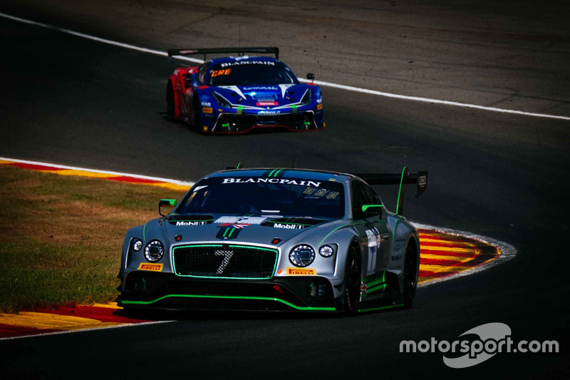 #7 Bentley Team M-Sport Bentley Continental GT3: Steven Kane, Jordan Lee Pepper, Jules Gounon