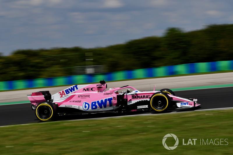 Nicholas Latifi, Force India VJM11