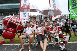 Leon Haslam, Takumi Takahashi, Michael Van Der Mark, Musashi Rt Harc-Pro