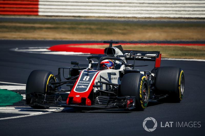 HAAS - Kevin Magnussen e Romain Grosjean