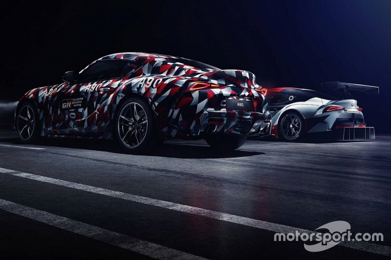Тізер Toyota Supra teaser 2019 року