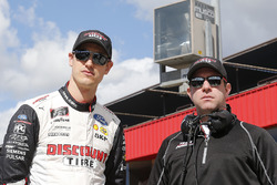 Joey Logano, Team Penske, Ford Mustang Discount Tire and Brian Wilson