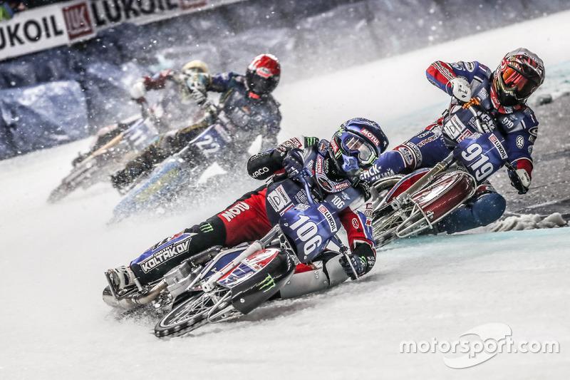 Тройка российских гонщиков была традиционно в ударе: Колтаков, Иванов и Дмитрий Хомицевич набрали в основной части заездов по 14 очков