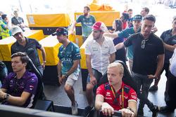 Alex Lynn, DS Virgin Racing, Nelson Piquet Jr., Jaguar Racing, Antonio Felix da Costa, Andretti Formula E Team, Daniel Abt, Audi Sport ABT Schaeffler, Felix Rosenqvist, Mahindra Racing, Andre Lotterer, Techeetah