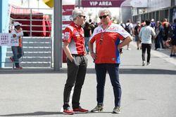 Gigi Dall'Igna, General Manager Ducati Team, Paolo Campinoti, Pramac Racing