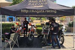 Angata Racing team area