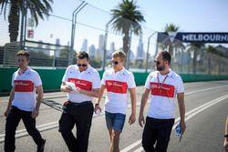 Marcus Ericsson, Alfa Romeo Sauber F1 Team pist yürüyüşü