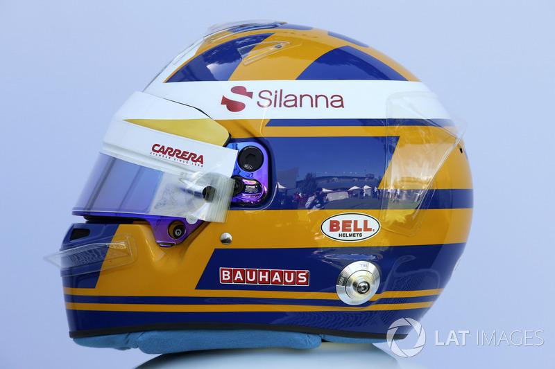 Casco de Marcus Ericsson, Sauber