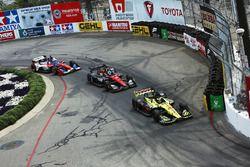 Sébastien Bourdais, Dale Coyne Racing with Vasser-Sullivan Honda, Robert Wickens, Schmidt Peterson Motorsports Honda, Tony Kanaan, A.J. Foyt Enterprises Chevrolet
