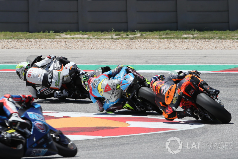 Joan Mir, Marc VDS, Brad Binder, Red Bull KTM Ajo