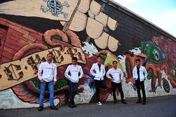 Rheza Danica, Mario Suryo Aji, Irfan Ardiansyah, Awhin Sanjaya dan Andi Gilang, Astra Honda Racing Team