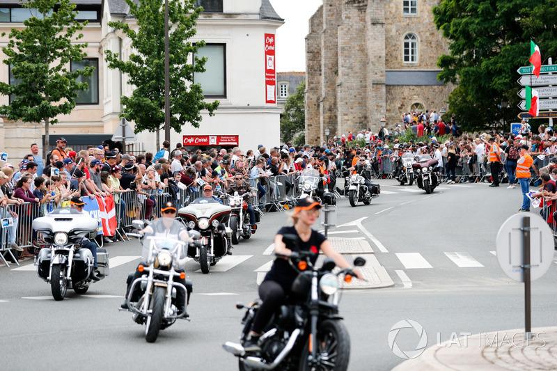 Motorbike parade