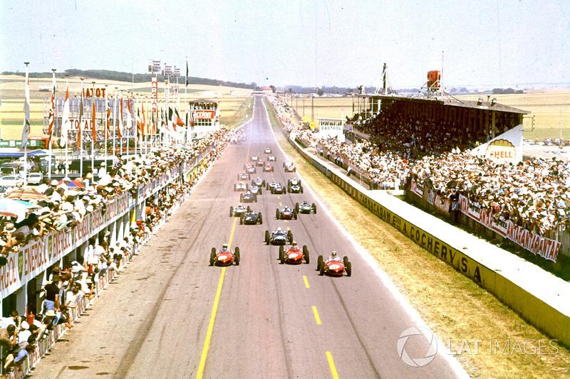Фил Хилл, Вольфганг фон Трипс и Ричи Гинтер, Ferrari