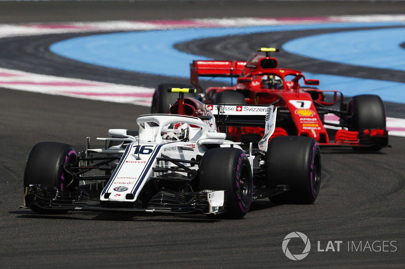Charles Leclerc, Sauber, Kimi Raikkonen, Ferrari