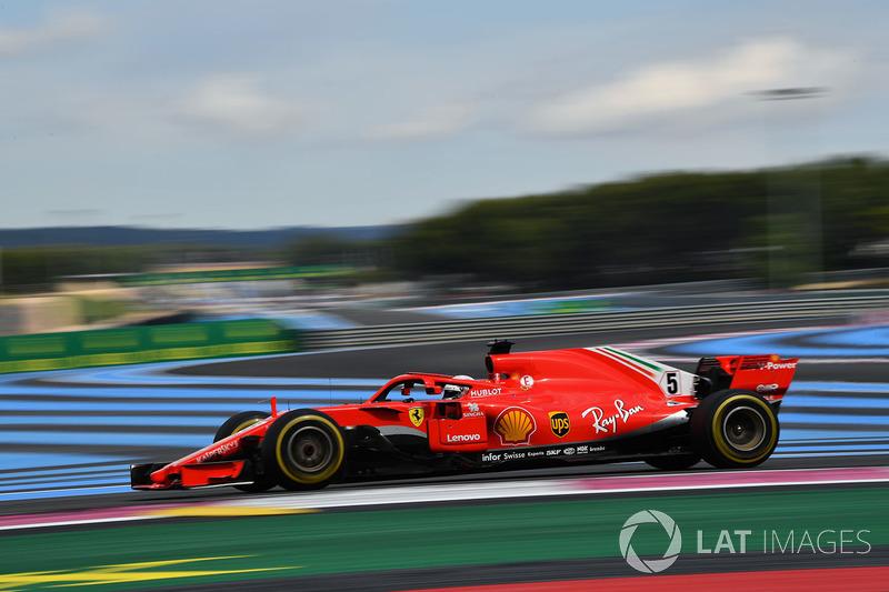 GP Perancis: Sebastian Vettel