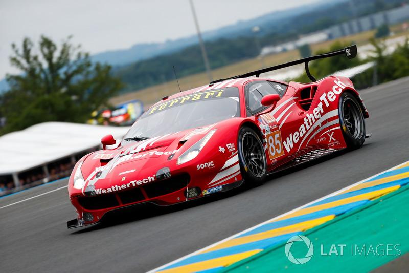Бен Китинг, Йерун Блекемолен, Лука Штольц, Keating Motorsports, Ferrari 488 GTE (№85)