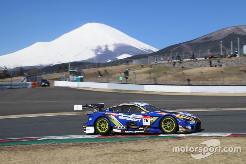 Юдзи Кунимото и Кента Ямашита – Lexus Team WedsSport Bandoh, №19 (Lexus LC 500)