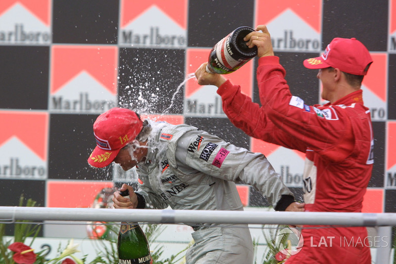The 2001 Brazilian Grand Prix in pictures