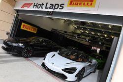 Vetture Pirelli hot lap