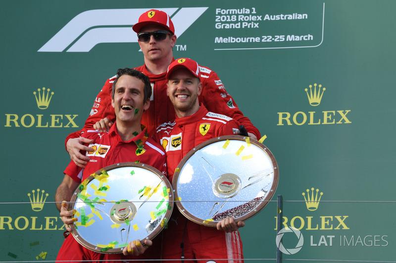 #4 - Sebastian Vettel és Kimi Räikkönen: 79