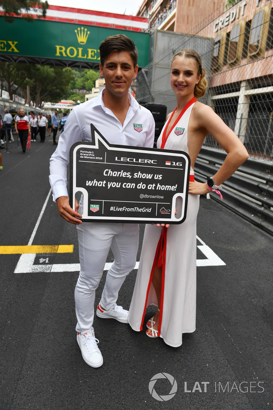 TAG Heuer grid girls and grid boys