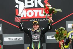 Podium SSP300: race winner Ana Carrasco