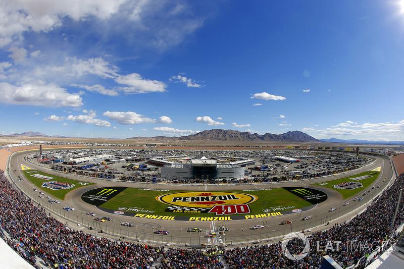 #8: Las Vegas Motor Speedway (1,5 Meilen) - 196,378 mph