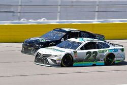 Gray Gaulding, BK Racing, Toyota Camry Earthwater and Ross Chastain, Premium Motorsports, Chevrolet