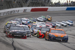 Brad Keselowski, Team Penske, Autotrader Ford Fusion, Clint Bowyer, Stewart-Haas Racing, Haas Automa