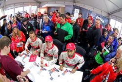 Khalid Al-Qassimi, Citroën World Rally Team, Craig Breen, Citroën World Rally Team, Kris Meeke, Citroën World Rally Team