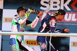 Podium: Jules Cluzel, CIA Landlord Insurance Honda, Federico Caricasulo, GRT Yamaha Official WorldSSP Team