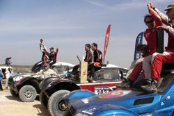 Podio auto: vincitori Mathieu Serradori, Fabian Lurquin, secondi Vladimir Vasilyev, Konstantin Zhilt