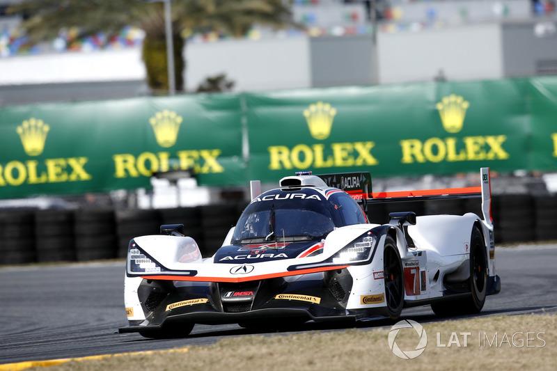 2.- #7 Acura Team Penske Acura DPi (Prototipo): Helio Castroneves, Graham Rahal, Ricky Taylor