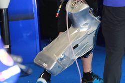 Yamaha Factory Racing fuel tank