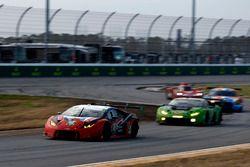 Мэдисон Сноу, Брайан Селлерс, Андреа Кальдарелли, Брайс Миллер, Paul Miller Racing, Lamborghini Hura