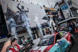 Race winner Jean-Karl Vernay, Audi Sport Leopard Lukoil Team Audi RS 3 LMS