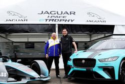 James Barclay, Team Director, Jaguar Racing, the Gen2 Formula E car, the Jaguar iPace eTrophy car
