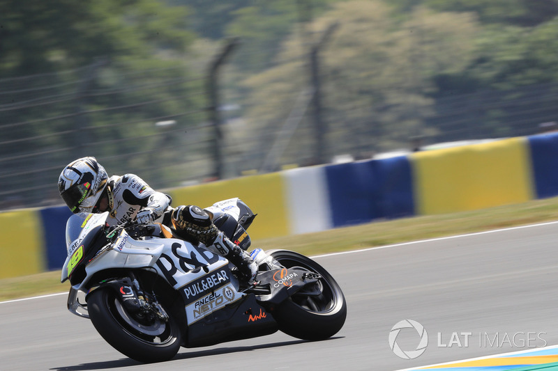 Ausfall: Alvaro Bautista, Angel Nieto Team