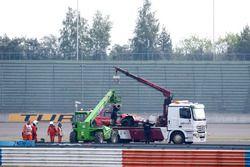 De auto van René Rast, Audi Sport Team Rosberg, Audi RS 5 DTM na de crash