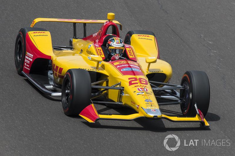 5. Ryan Hunter-Reay, Andretti Autosport, Honda