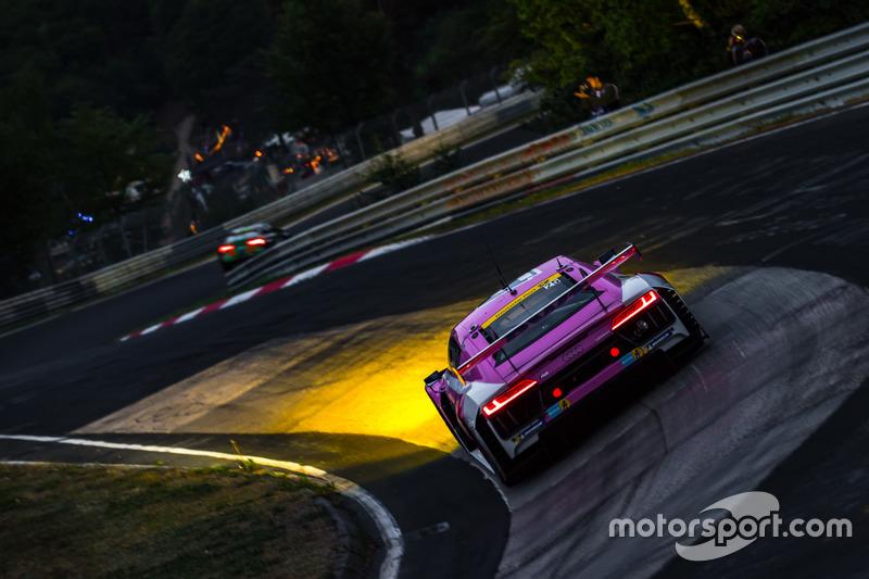 14. #25 Team BWT Mücke Motorsport Audi R8 LMS GT3: Stefan Mücke, Christer Jöns, Marcel Fässler, Pierre Kaffer