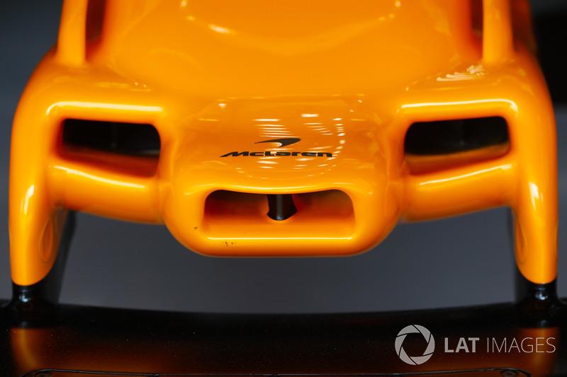 La nariz del McLaren MCL33