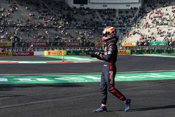 Pierre Gasly, Scuderia Toro Rosso after stopping on track in FP3