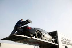 BMW M6 GT3 pushed back in the Truck